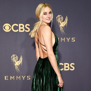 Shailene Woodley, 2017 Emmy Awards, Arrivals