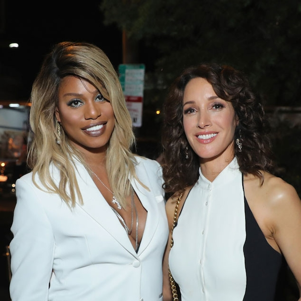 Laverne Cox & Jennifer Beals From Emmys 2017: Party Pics