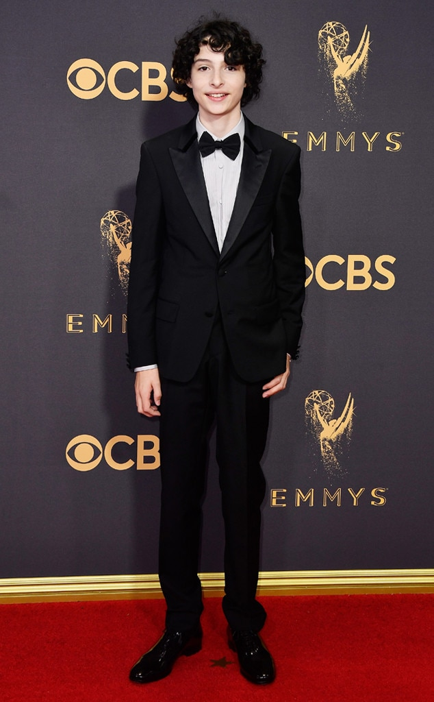 Finn Wolfhard, 2017 Emmy Awards, Arrivals