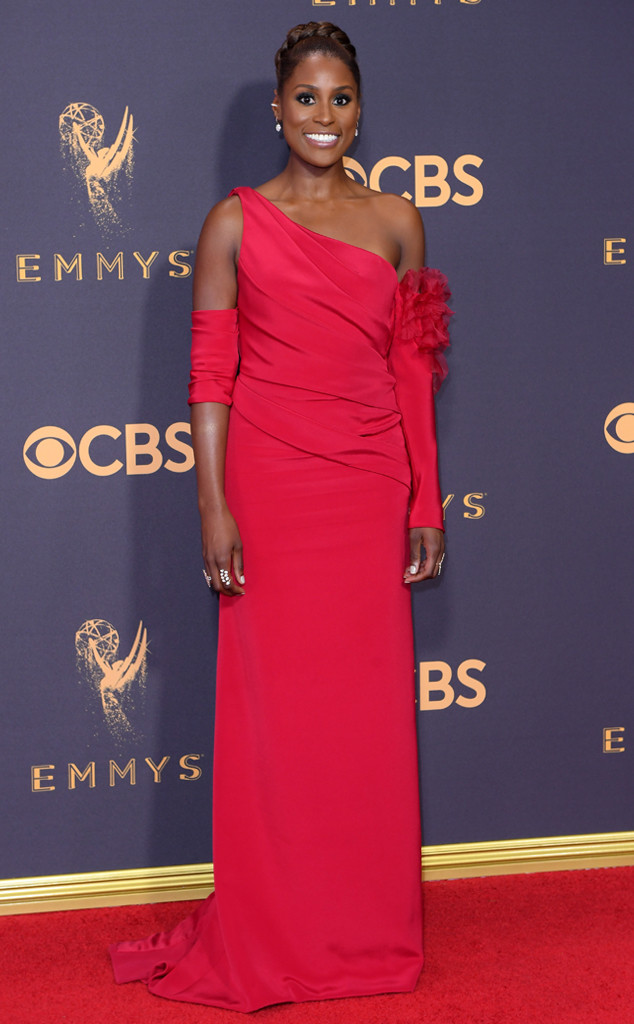 Issa Rae, 2017 Emmy Awards, Arrivals