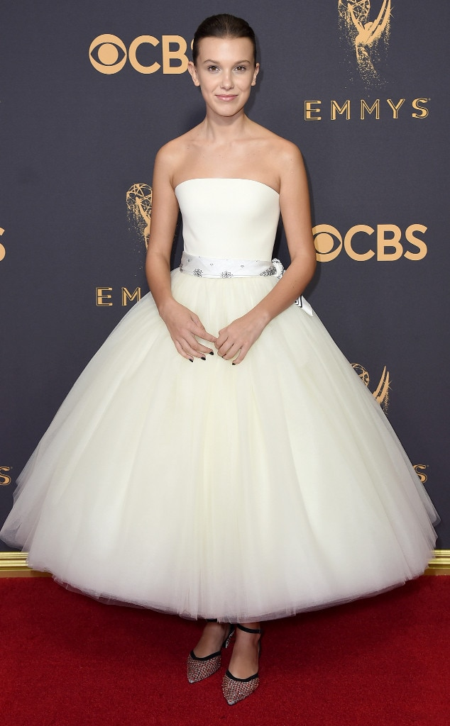 2017 Emmys Red Carpet Arrivals Millie Bobby Brown, 2017 Emmy Awards, Arrivals