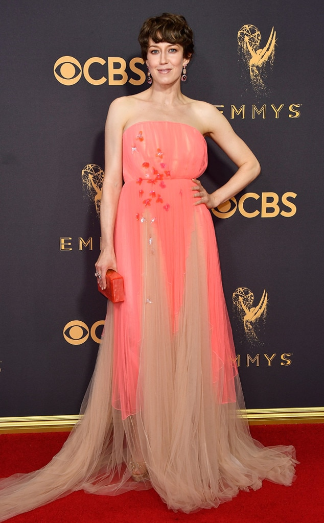 2017 Emmys Red Carpet Arrivals Carrie Coon, 2017 Emmy Awards, Arrivals
