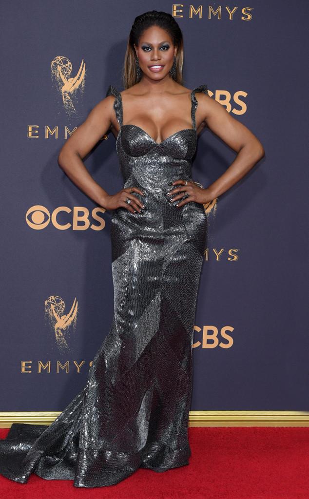 Laverne Cox, 2017 Emmy Awards, Arrivals