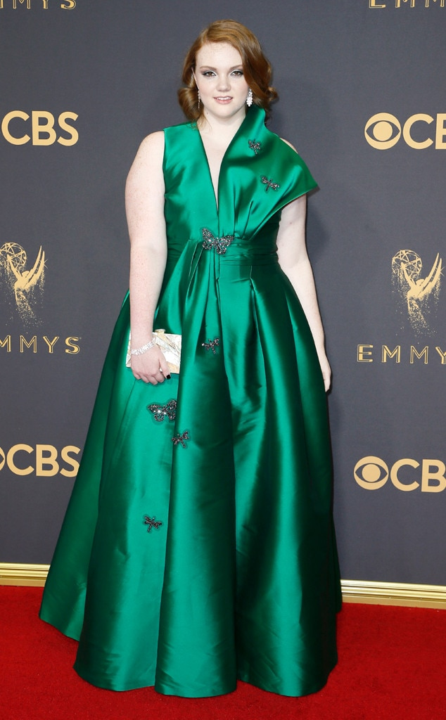 Shannon Purser From 2017 Emmys Red Carpet Arrivals E News