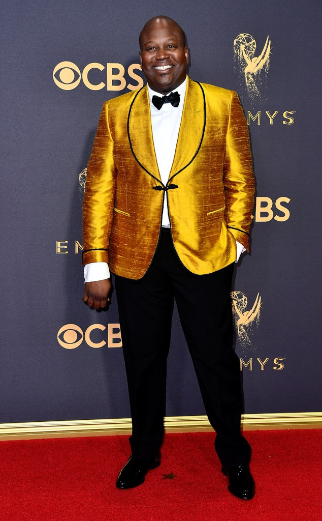 Tituss Burgess, 2017 Emmy Awards, Arrivals