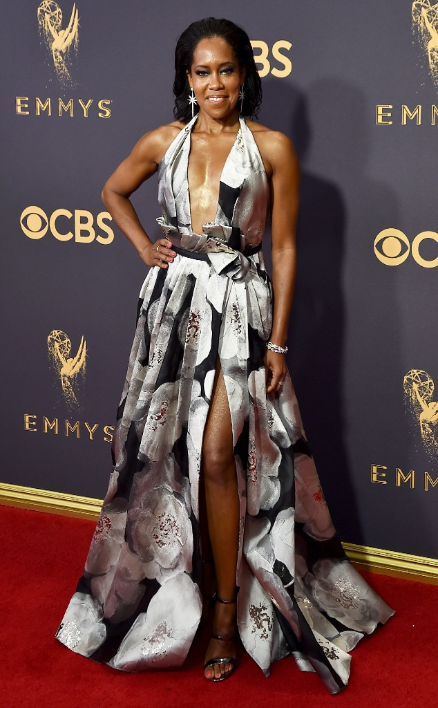 Regina King, 2017 Emmy Awards, Arrivals