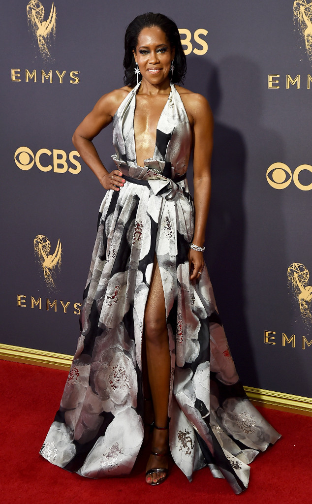 Regina King, 2017 Emmy Awards, Arrivals