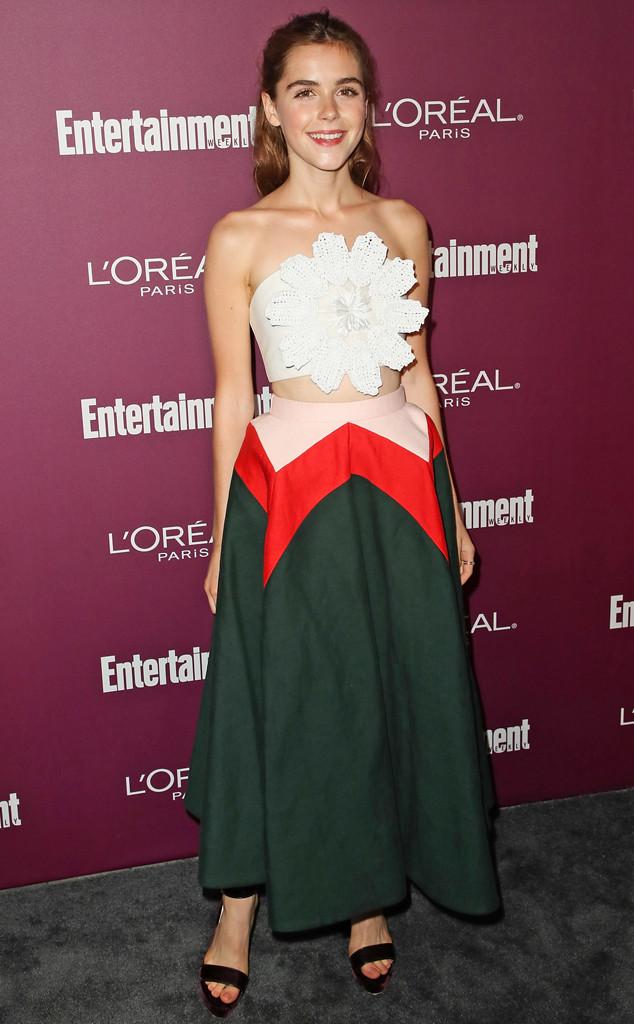 Kiernan Shipka, Entertainment Weekly's 2017 Pre-Emmy Party