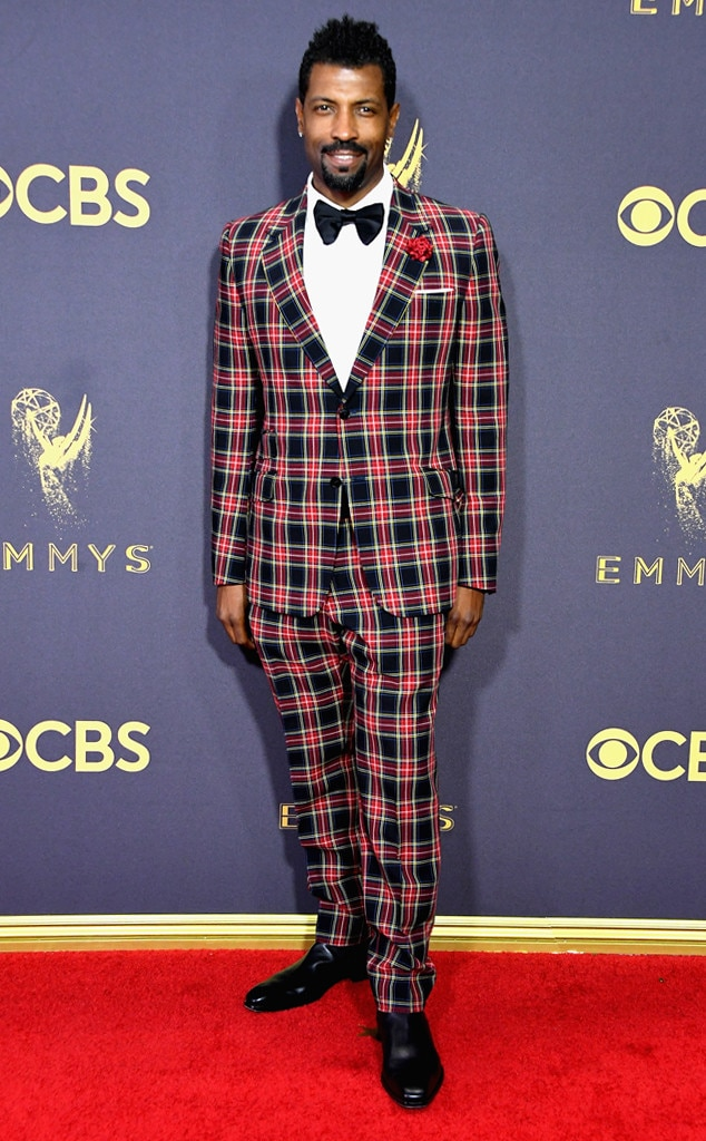 Deon Cole 2017 Emmy Awards, Arrivals