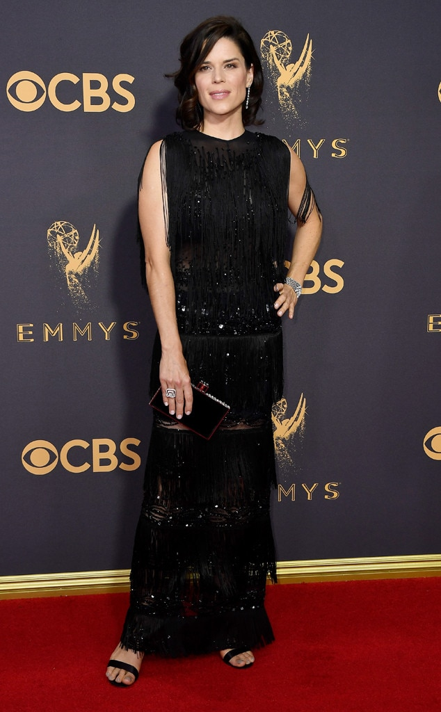 Neve Campbell from 2017 Emmys Red Carpet Arrivals | E! News