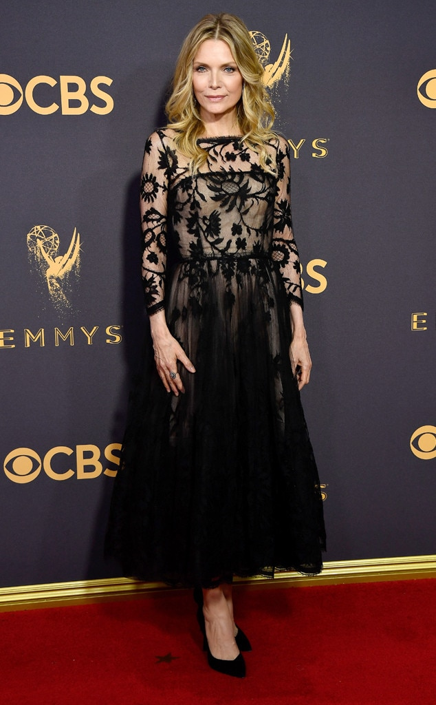 2017 Emmys Red Carpet Arrivals Michelle Pfeiffer, 2017 Emmy Awards, Arrivals