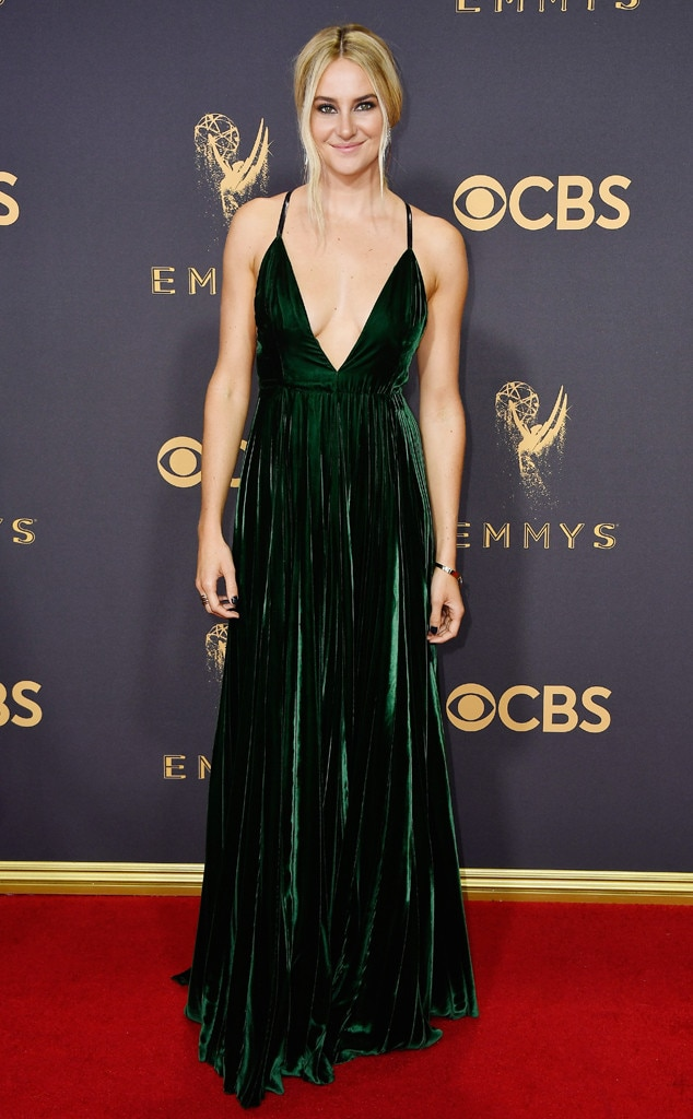 2017 Emmys Red Carpet Arrivals Shailene Woodley, 2017 Emmy Awards, Arrivals