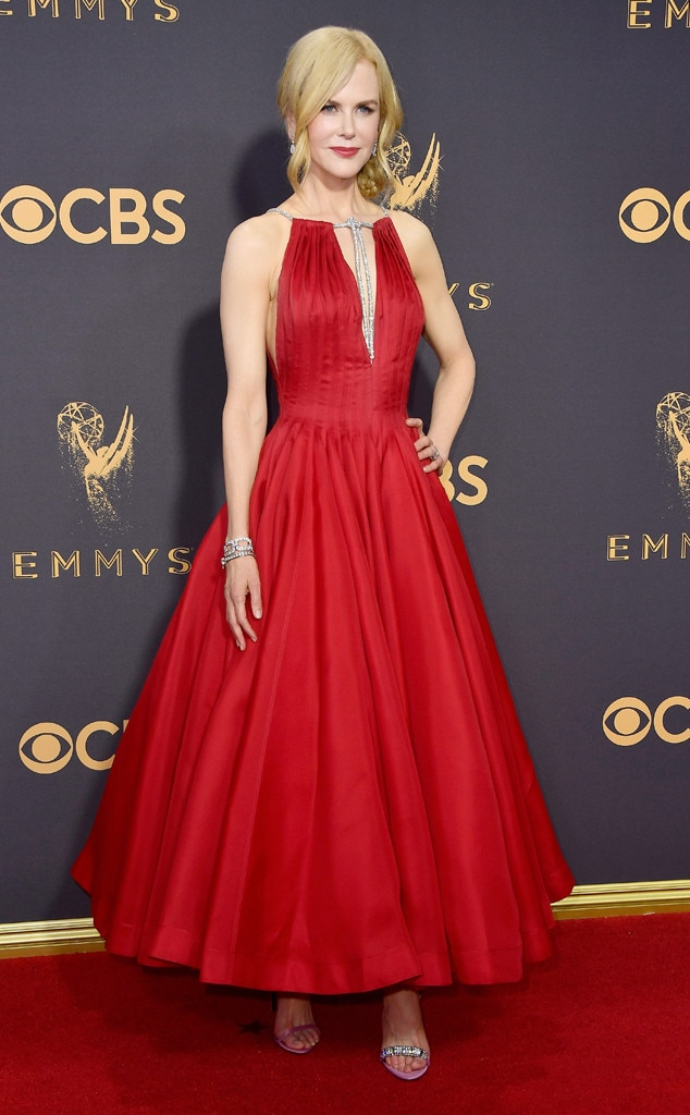 2017 Emmys Red Carpet Arrivals Nicole Kidman, 2017 Emmy Awards, Arrivals