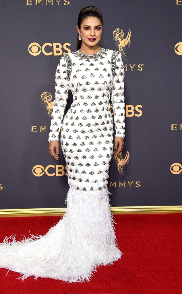 2017 Emmys Red Carpet Arrivals Priyanka Chopra, 2017 Emmy Awards, Arrivals