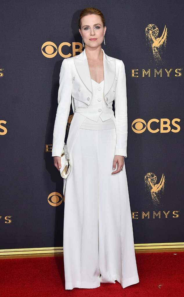 2017 Emmys Red Carpet Arrivals Evan Rachel Wood, 2017 Emmy Awards, Arrivals