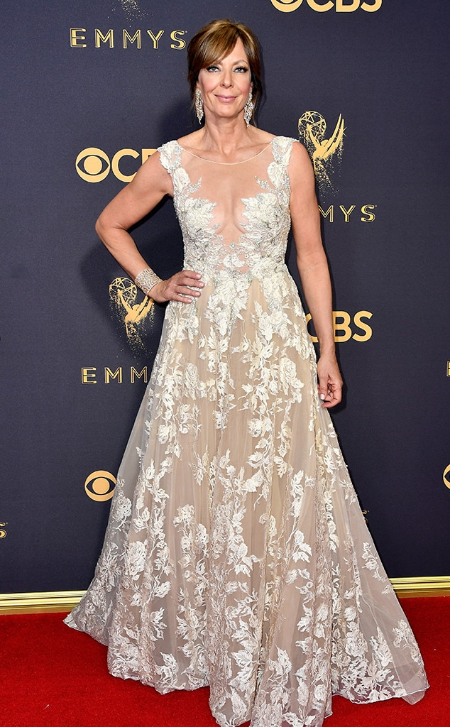 2017 Emmys Red Carpet Arrivals Allison Janney, 2017 Emmy Awards, Arrivals