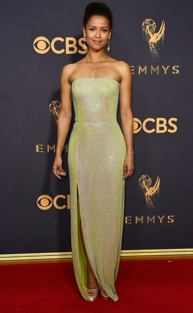 2017 Emmys Red Carpet Arrivals Gugu Mbatha-Raw, 2017 Emmy Awards, Arrivals