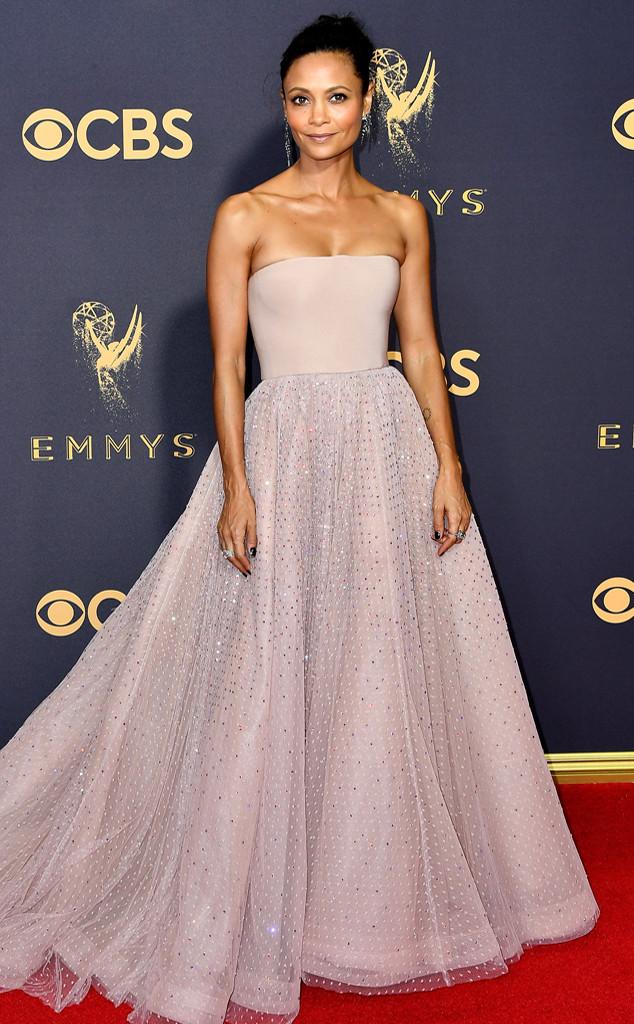 Thandie Newton, 2017 Emmy Awards, Arrivals