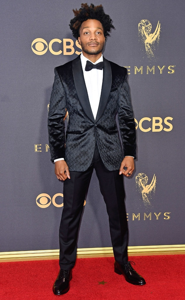 Jermaine Fowler, 2017 Emmys