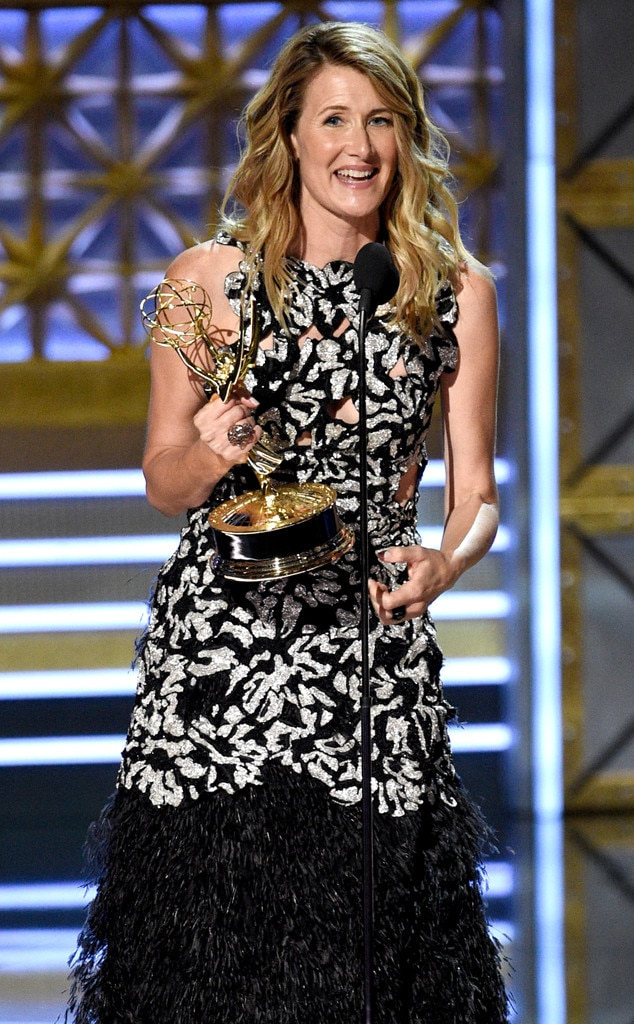 Laura Dern, 2017 Emmy Awards, Winners