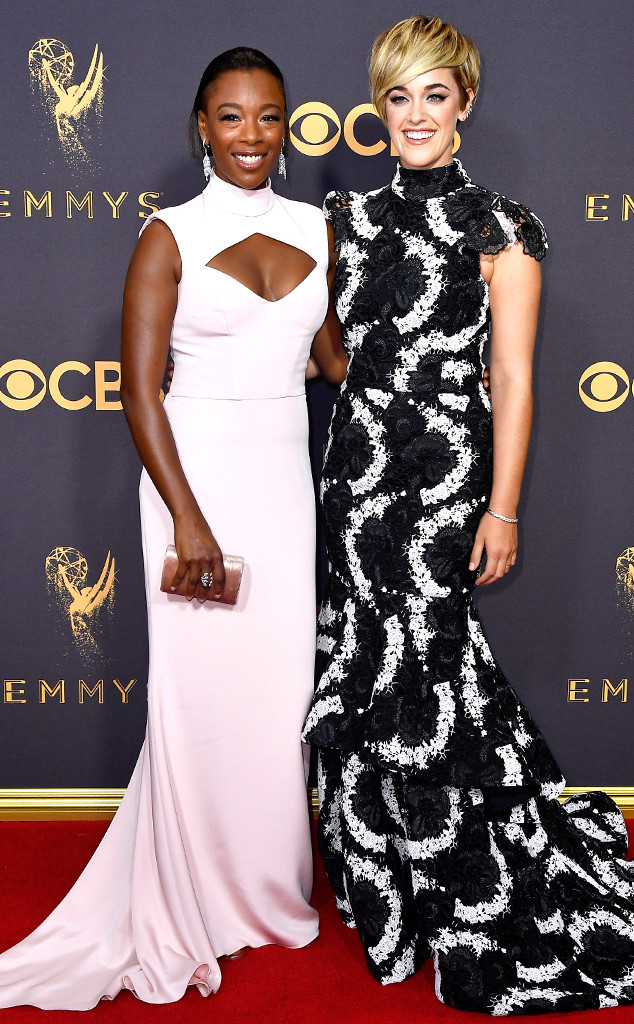 Samira Wiley, Lauren Morelli, 2017 Emmys, Couples