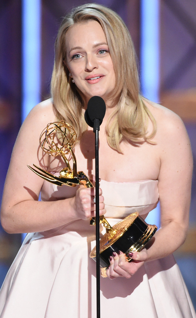 Elisabeth Moss, 2017 Emmy Awards, Winner