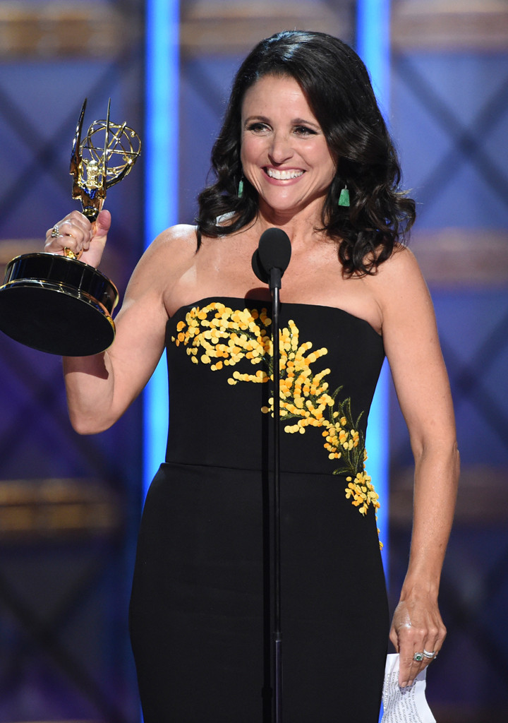 Julia Louis-Dreyfus, 2017 Emmy Awards, Winners
