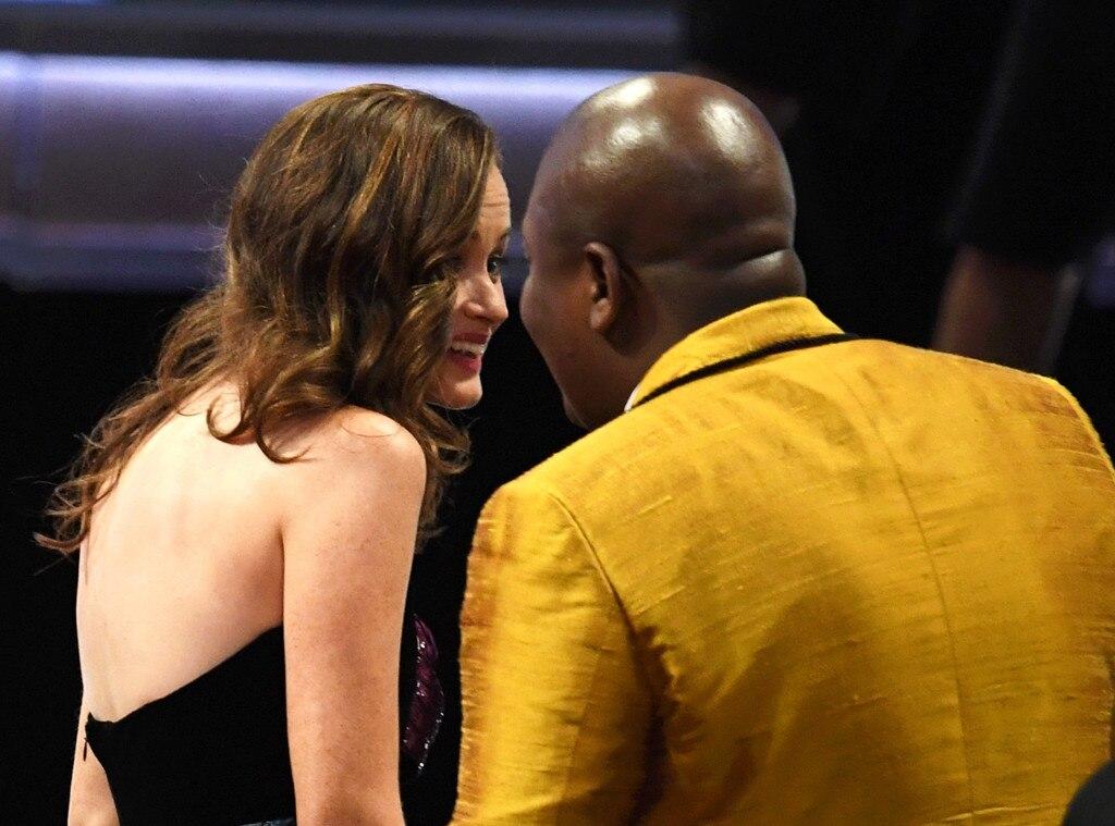 Alexis Bledel, Tituss Burgess, 2017 Emmys