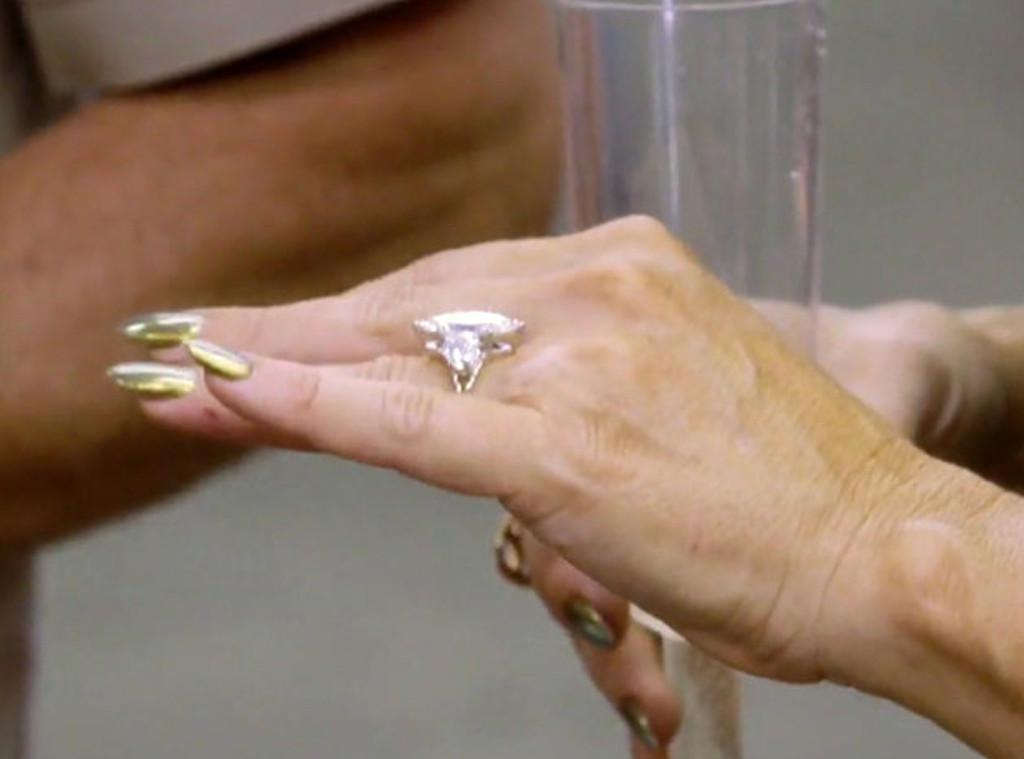 LeeAnne Locken, Engagement Ring