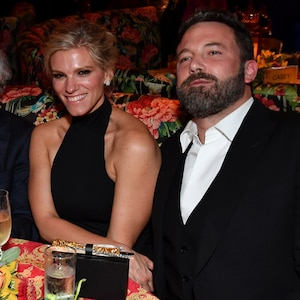 Lindsay Shookus, Ben Affleck, HBO Emmy Party Pics 2017