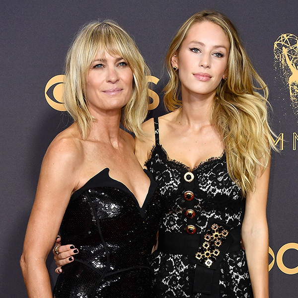Robin Wright, Dylan Penn, 2017 Emmy Awards