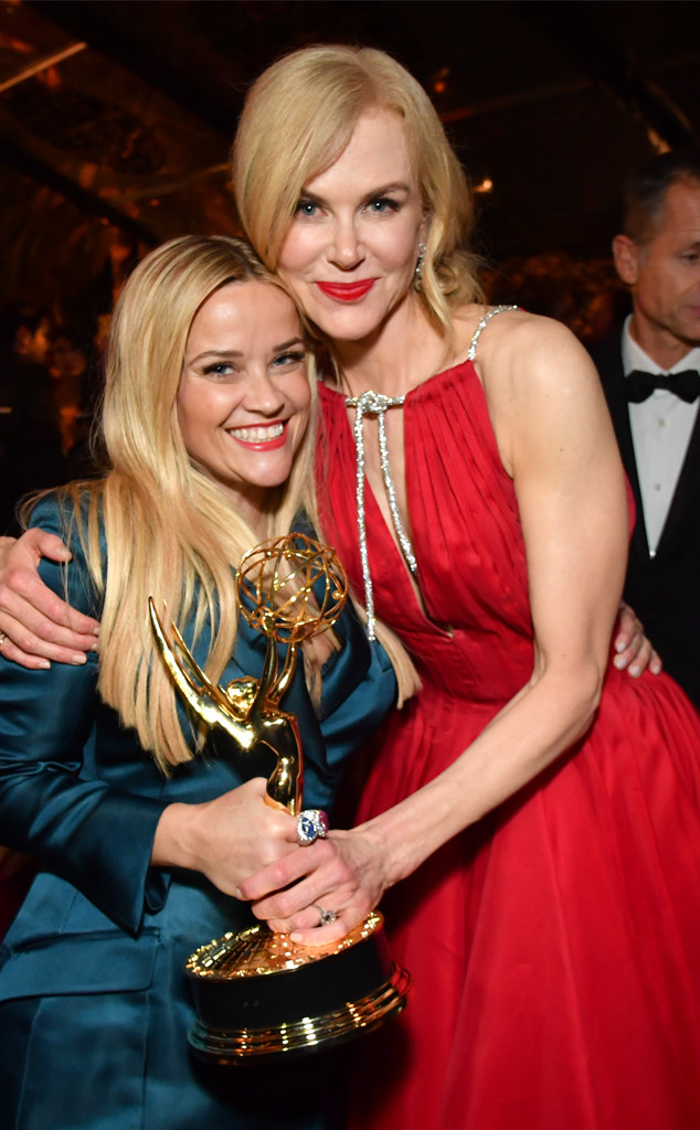 Reese Witherspoon, Nicole Kidman, HBO Emmy Party Pics 2017