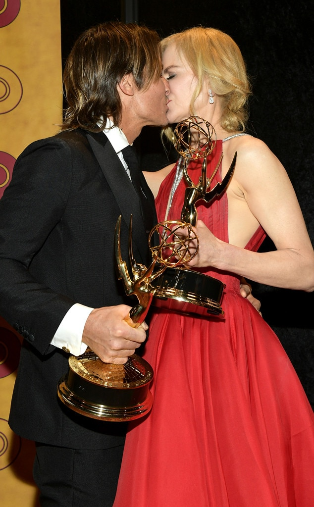 Keith Urban, Nicole Kidman, 2017 Emmy Awards