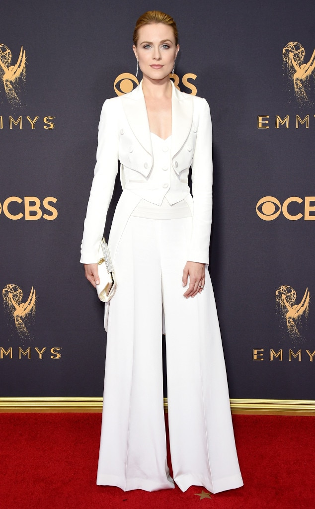 Evan Rachel Wood, 2017 Emmy Awards, Arrivals