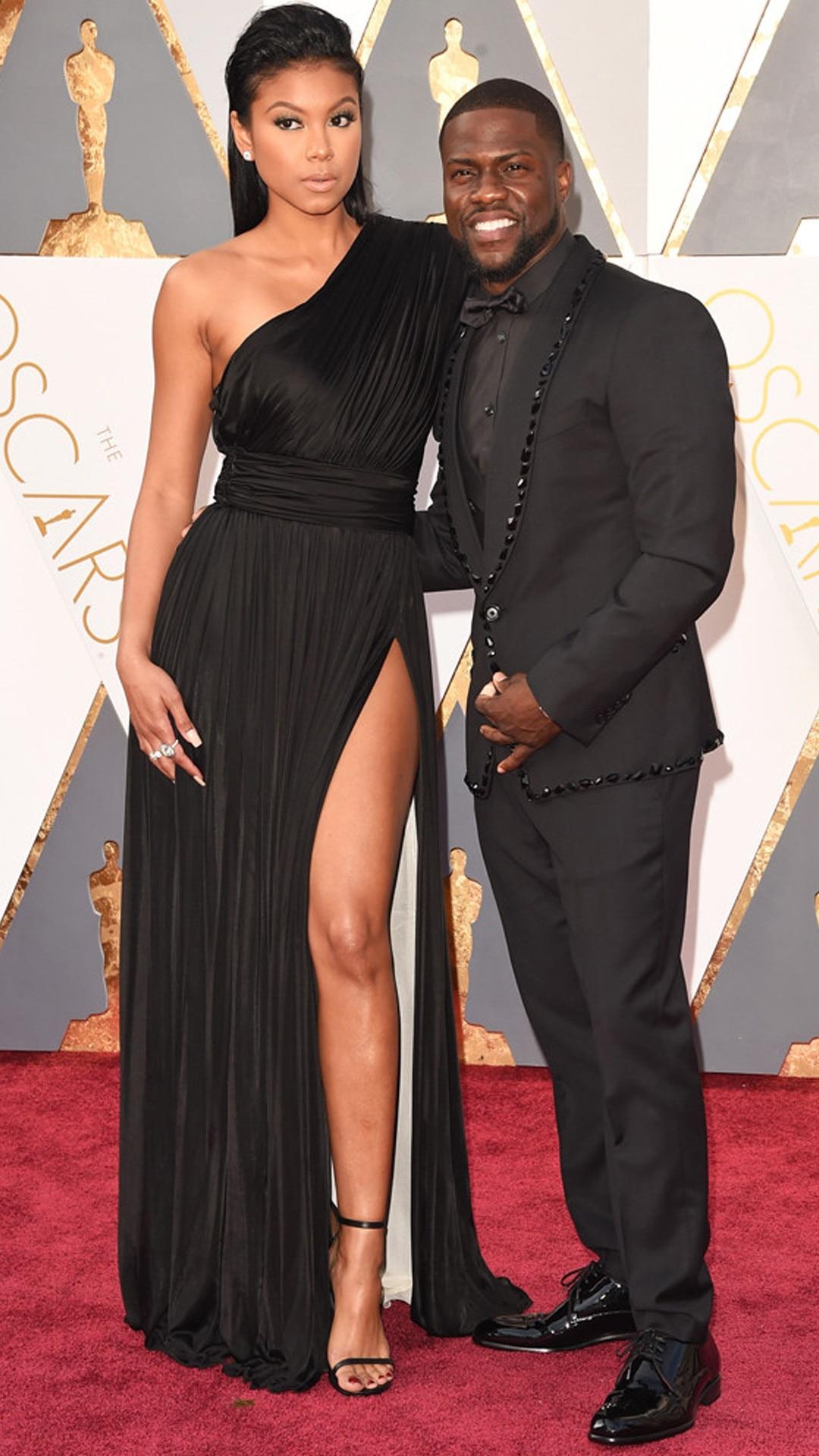 2016 Oscars, Academy Awards, Arrivals, Kevin Hart, Eniko Parrish, Couples