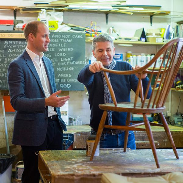 Prince William, Duke of Cambridge, Spitalfields Crypt Trust
