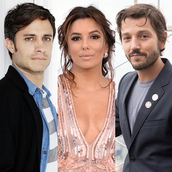 Gael Berna Bernal, Eva Longoria, Diego Luna