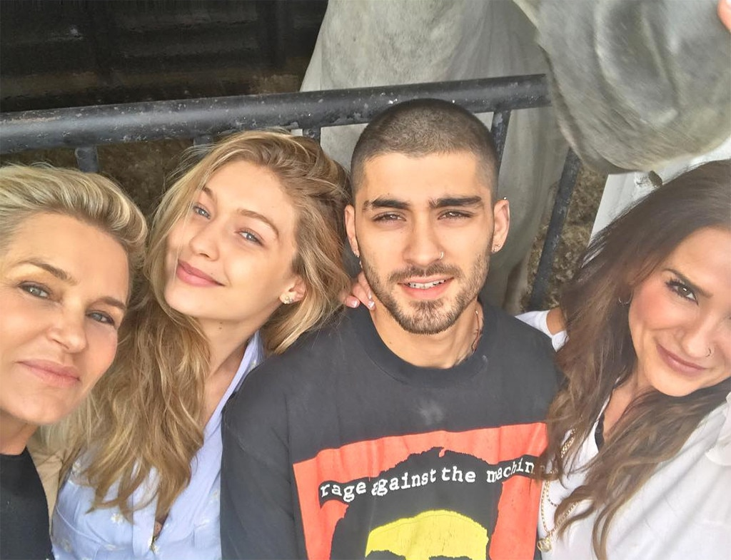 Gigi Hadid And Zayn Malik Celebrate Eid Al-Adha Together With Their Mothers
