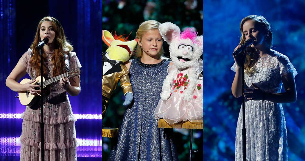 America's Got Talent, Finale, Evie Clair, Darci Lynne Farmer and Mandy Harvey