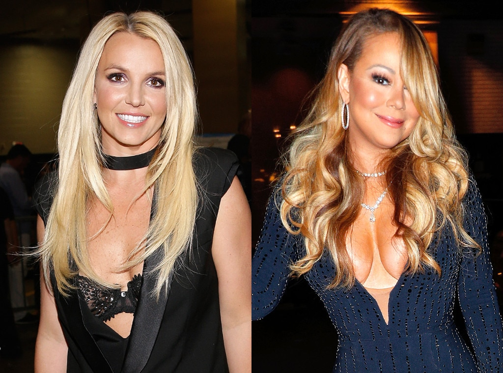 Mariah Carey, Britney Spears