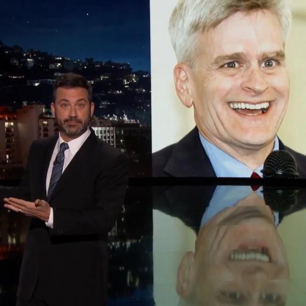 Jimmy Kimmel, Sen. Bill Cassidy