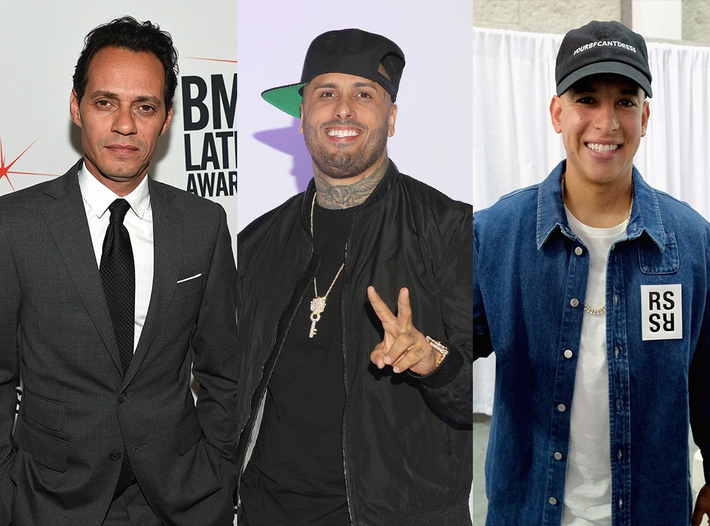Marc Anthony, Nicky Jam, Daddy Yannkee