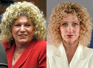 Leslie Abramson, Edie Falco, 'Law & Order True Crime: The Menendez Murders'