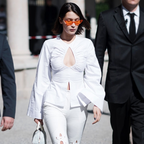 Bella Hadid's White Pants