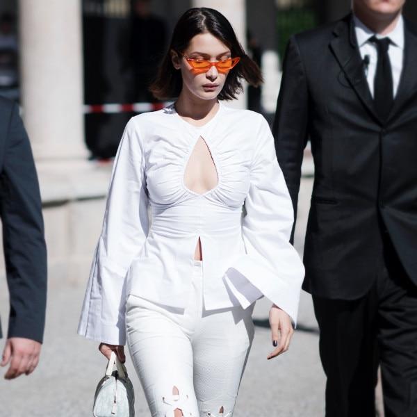 Bella Hadid's White Pants