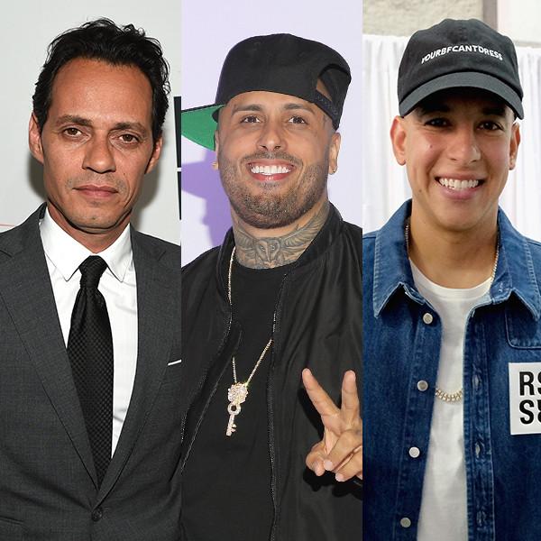 Marc Anthony, Nicky Jam, Daddy Yannkee