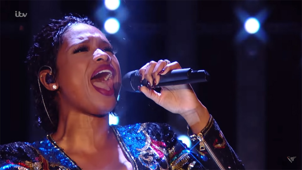 Jennifer Hudson, The Voice UK