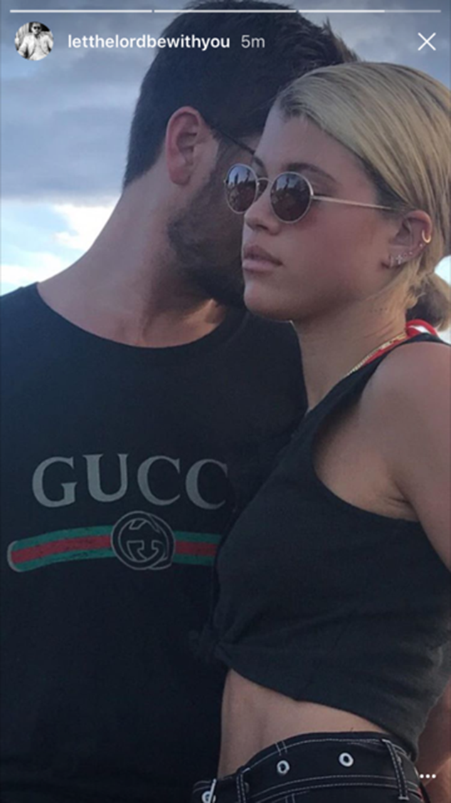 Did scott disick just confirm those sofia richie dating - Sofia gucci diva ...