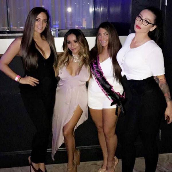 Sammi ''Sweetheart'' Giancola, Snooki, Deena Cortese, JWoww
