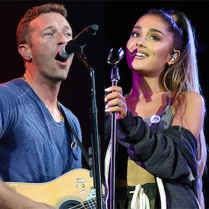 A Concert for Charlottesville, Chris Martin, Ariana Grande